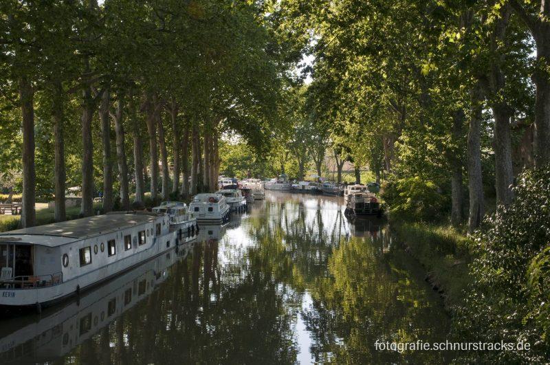 Hausboot Anlegestelle Capestang am Canal du Midi #669