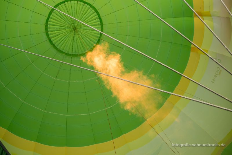 Phantasialand Heißluftballon von Skytours
