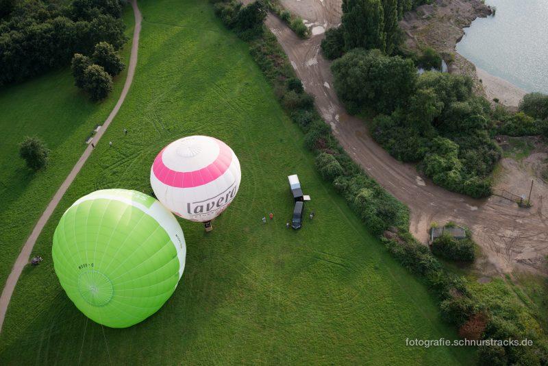 Heißluftballons am Boden #8258