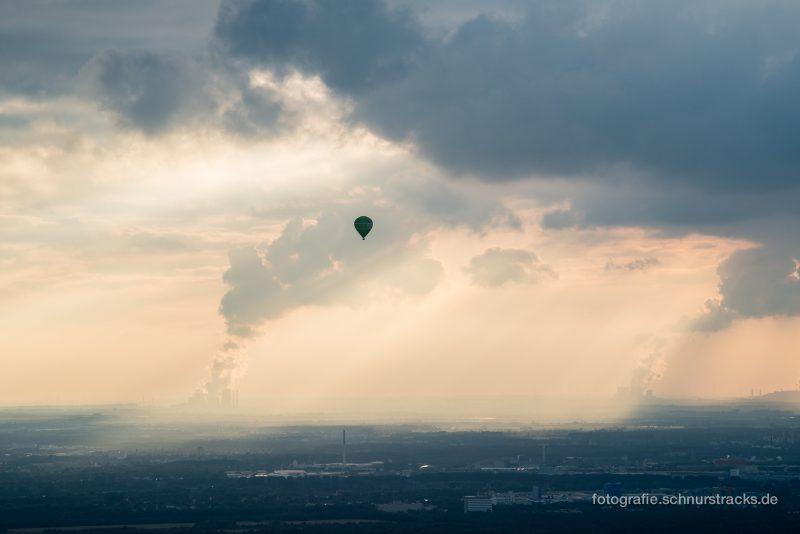 Luftaufnahme mit Ballon #8381
