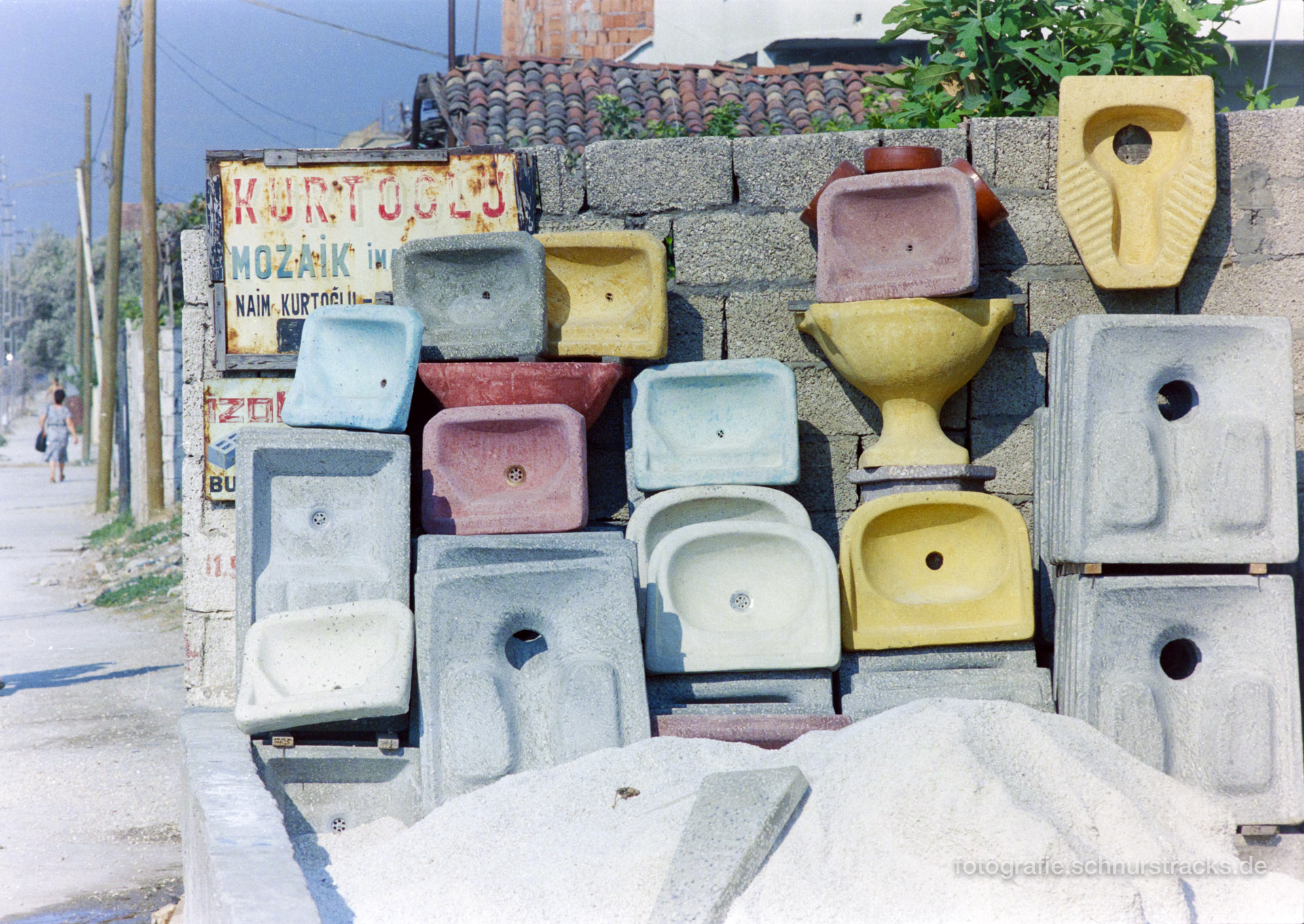 Waschbecken Antakya – Türkei 1988