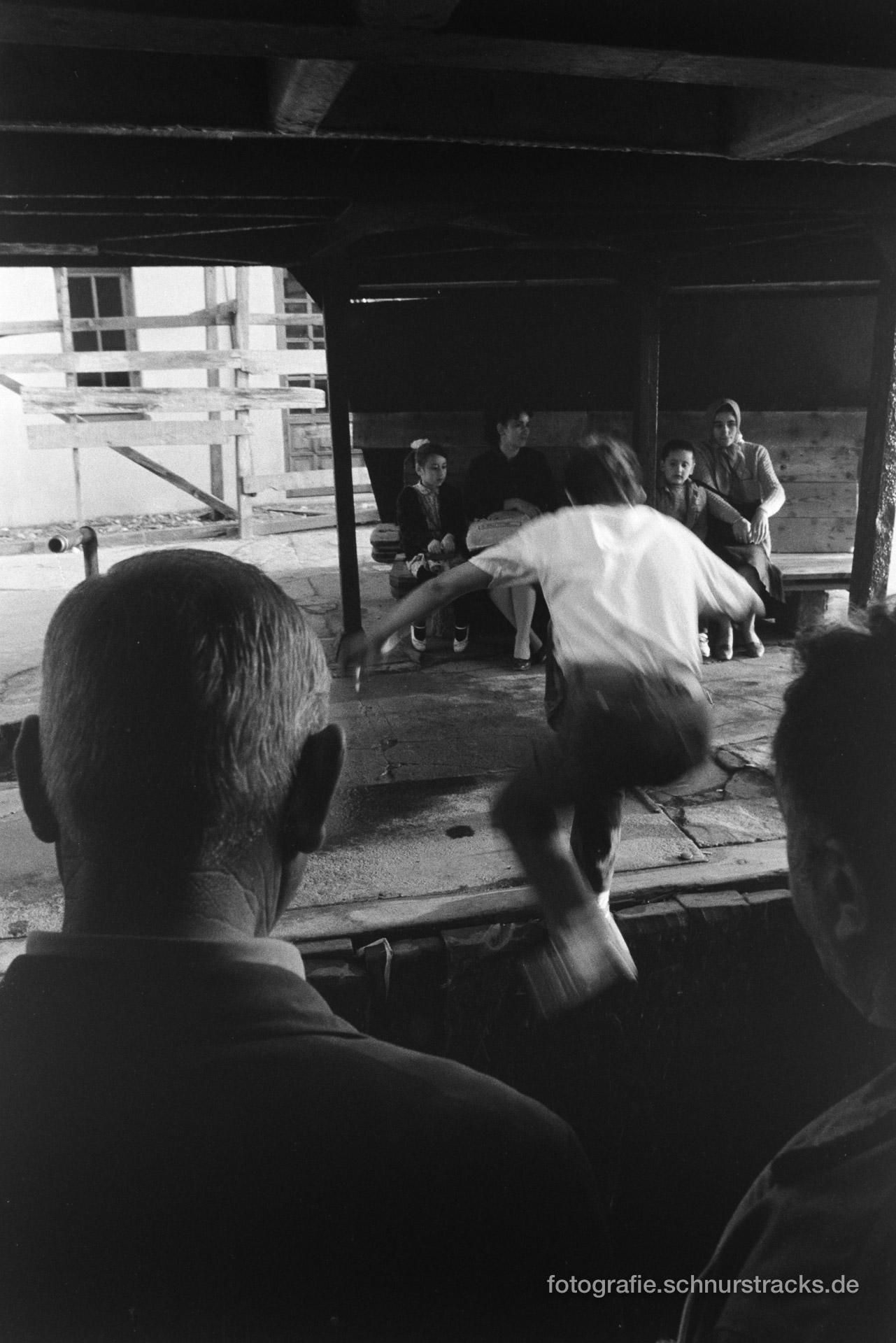 Sprung von der Fähre nach Asien – Istanbul 1987