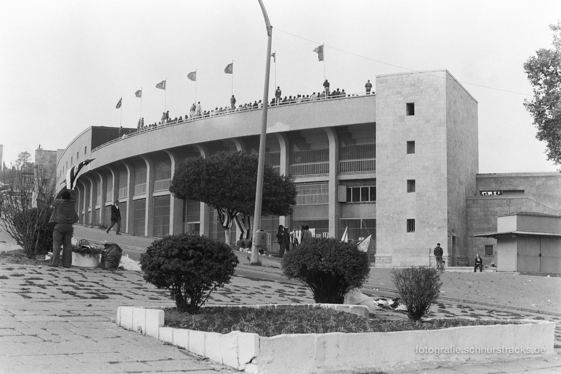 Stadion von Galatasaray – Istanbul 1987