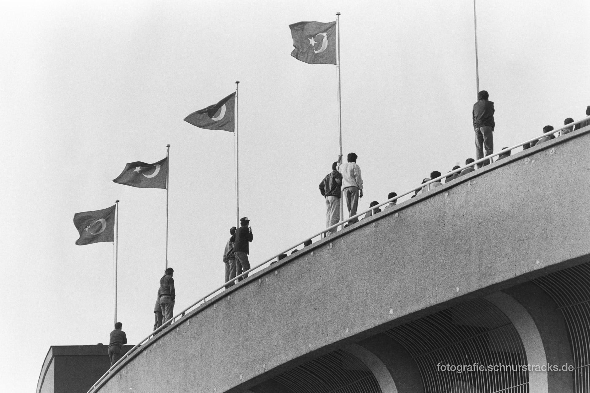 Stange halten – Istanbul 1987