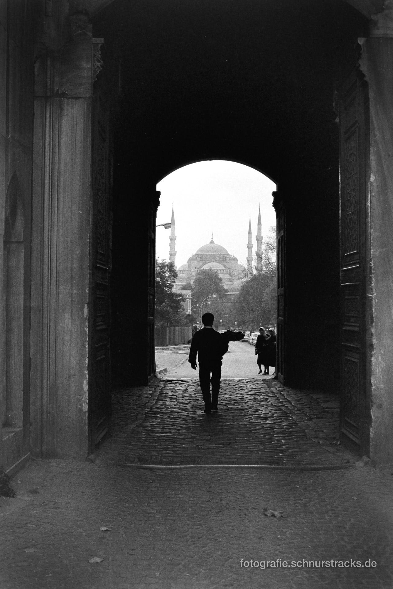 Teeverkäufer – Istanbul 1987
