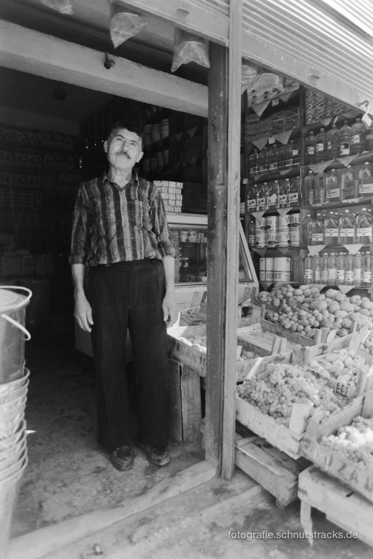 Ladenbesitzer – Türkei 1988