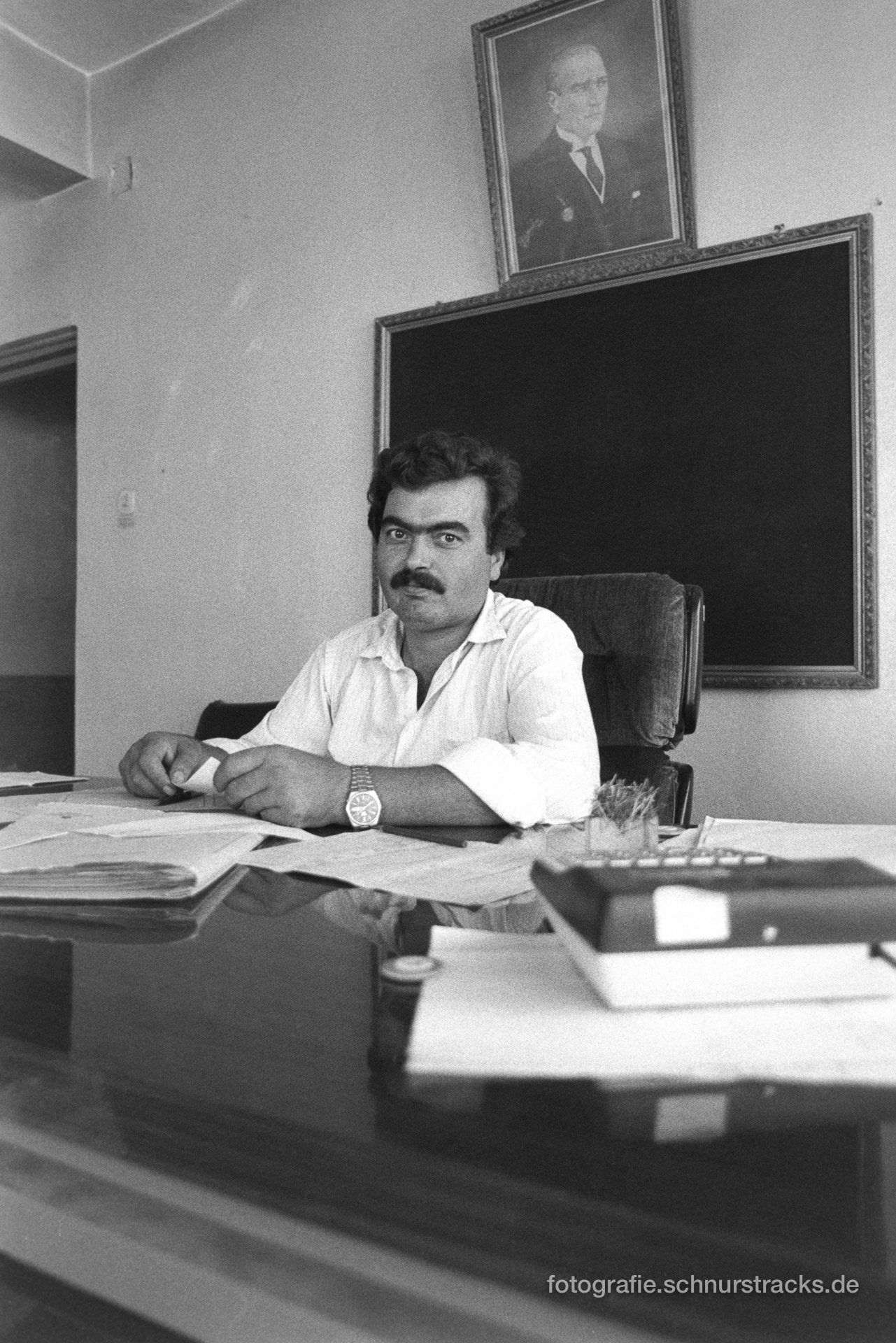 Beamter in Samandag – Türkei 1988
