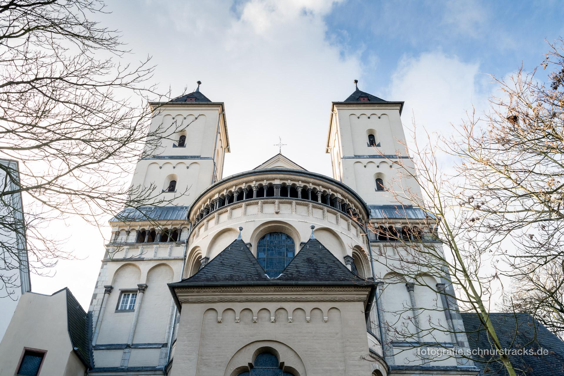 Ostfassade Abteikirche Brauweiler #0195