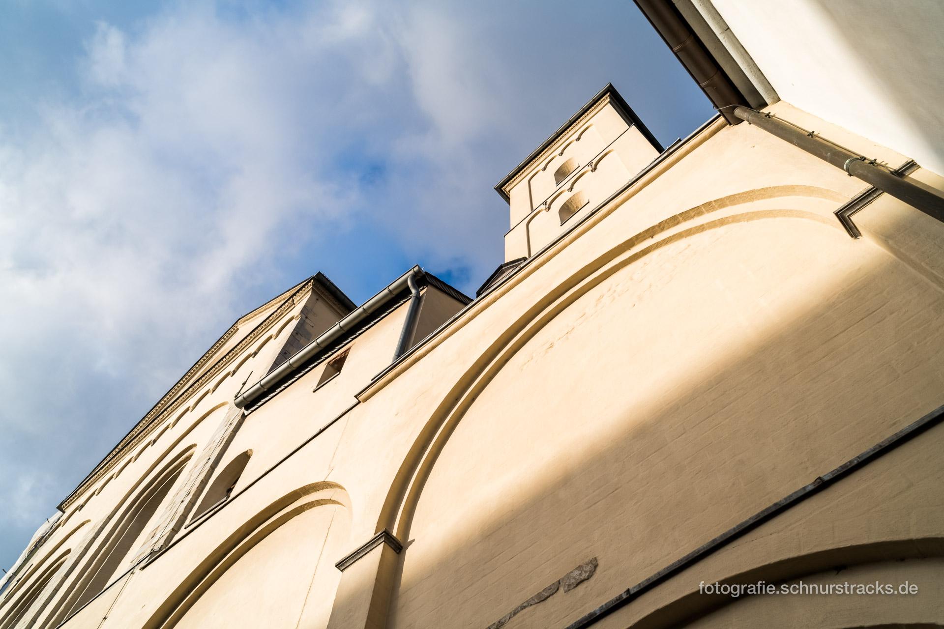 Südfassade Abteikirche Brauweiler #0229