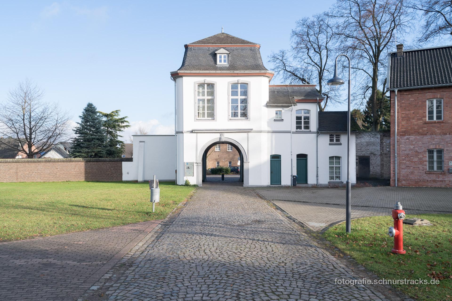 Feldtor Westansicht im Abteipark #0191
