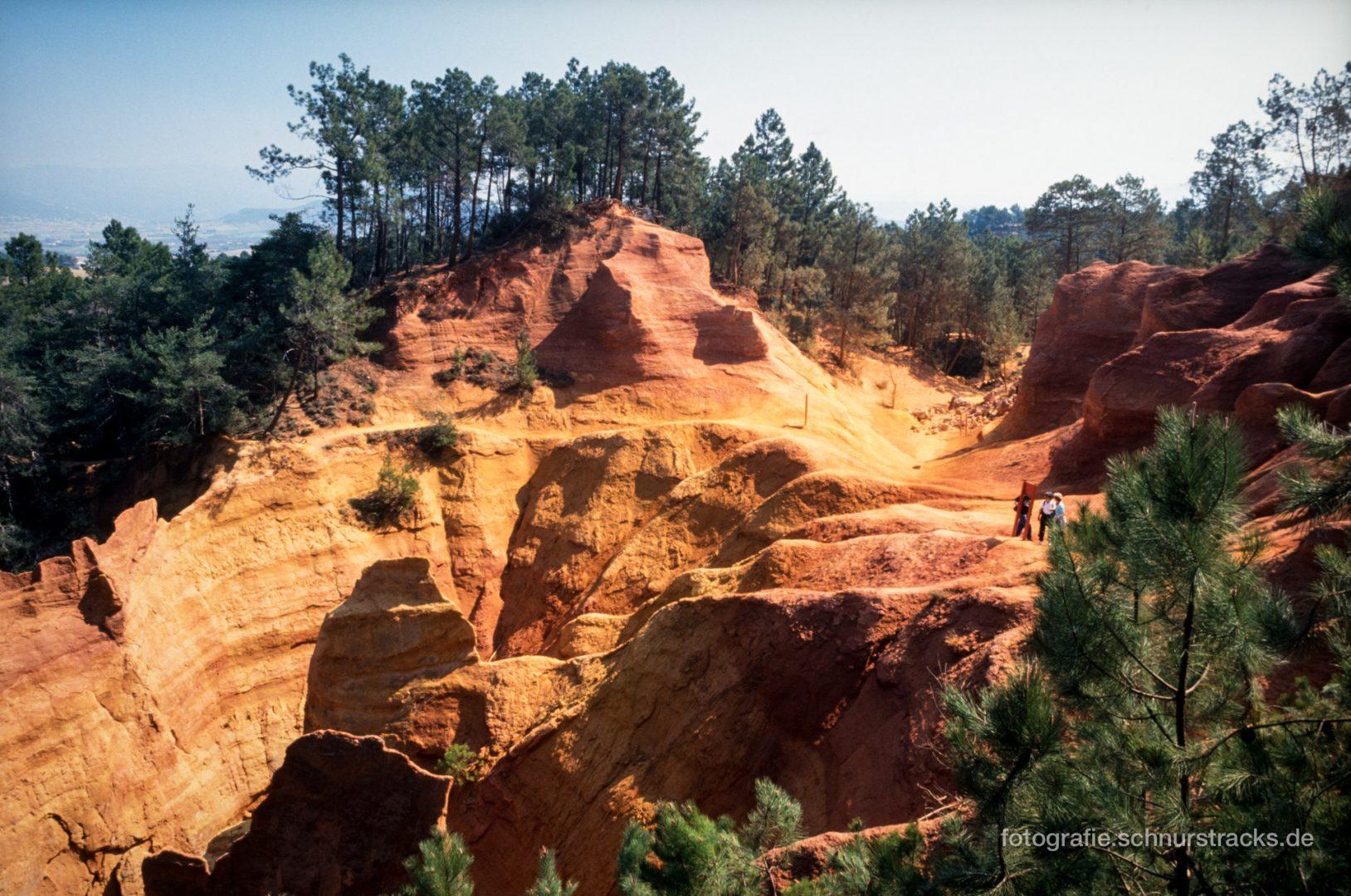 Roussillon - Ockerfelsen - Le Sentier des Ocres #0671