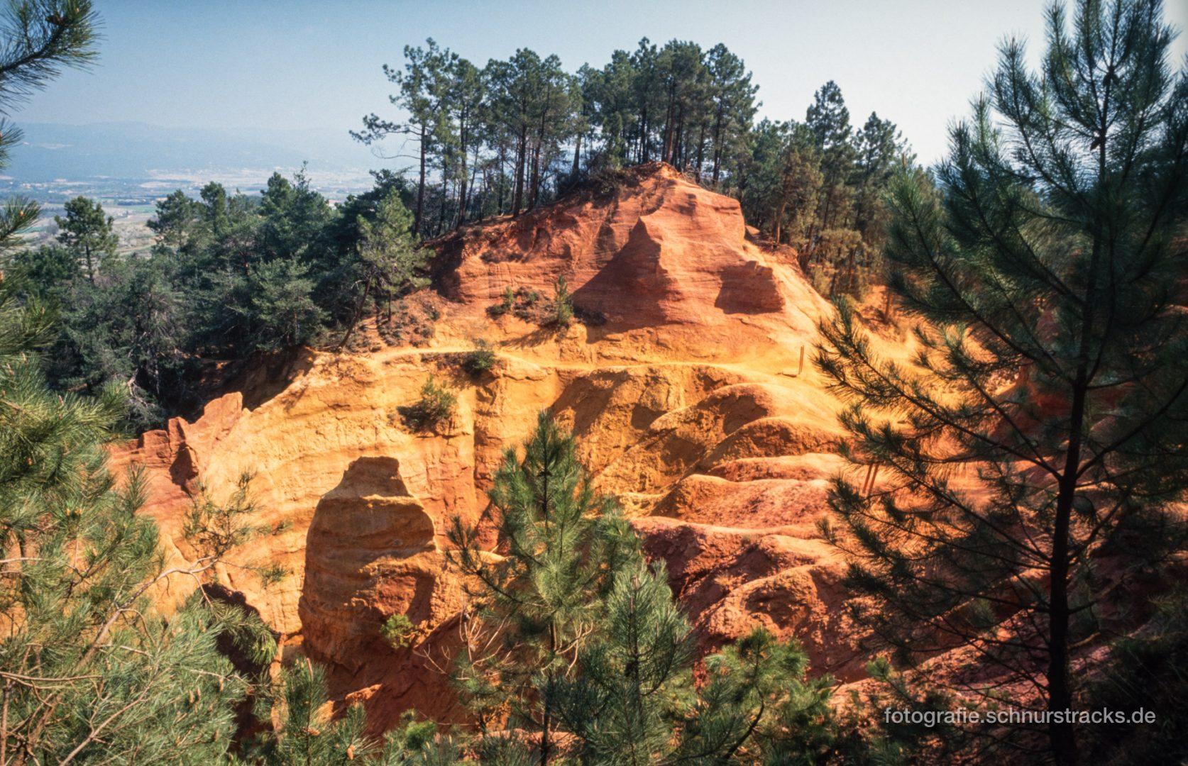 Roussillon - Ockerfelsen - Le Sentier des Ocres #0672