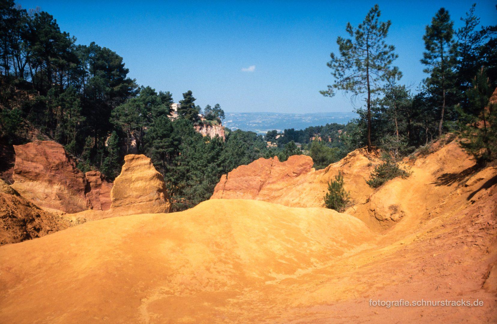 Roussillon - Ockerfelsen - Le Sentier des Ocres #0675