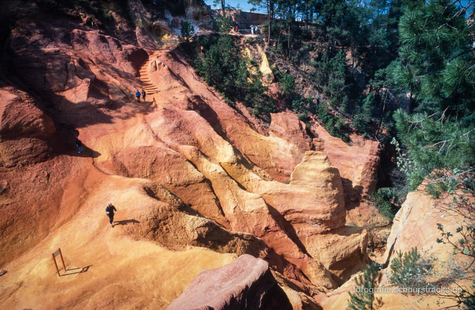 Roussillon - Ockerfelsen - Le Sentier des Ocres #0676