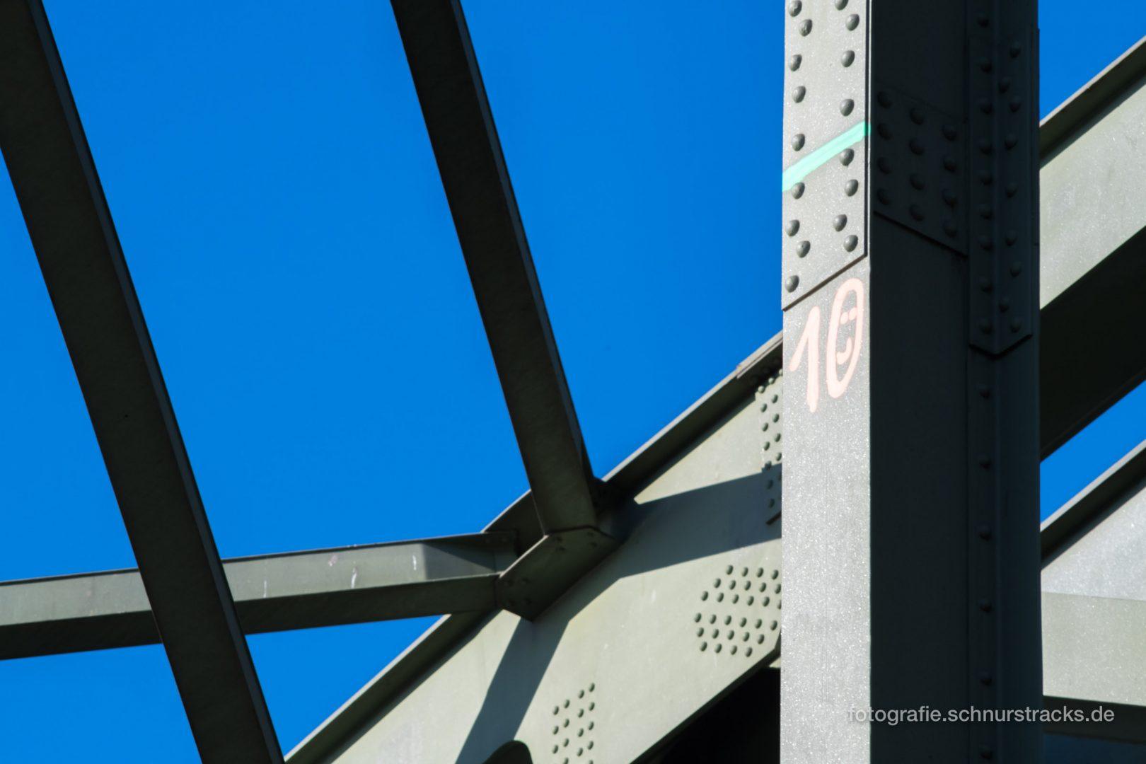 Hohenzollernbrücke Detail #1198