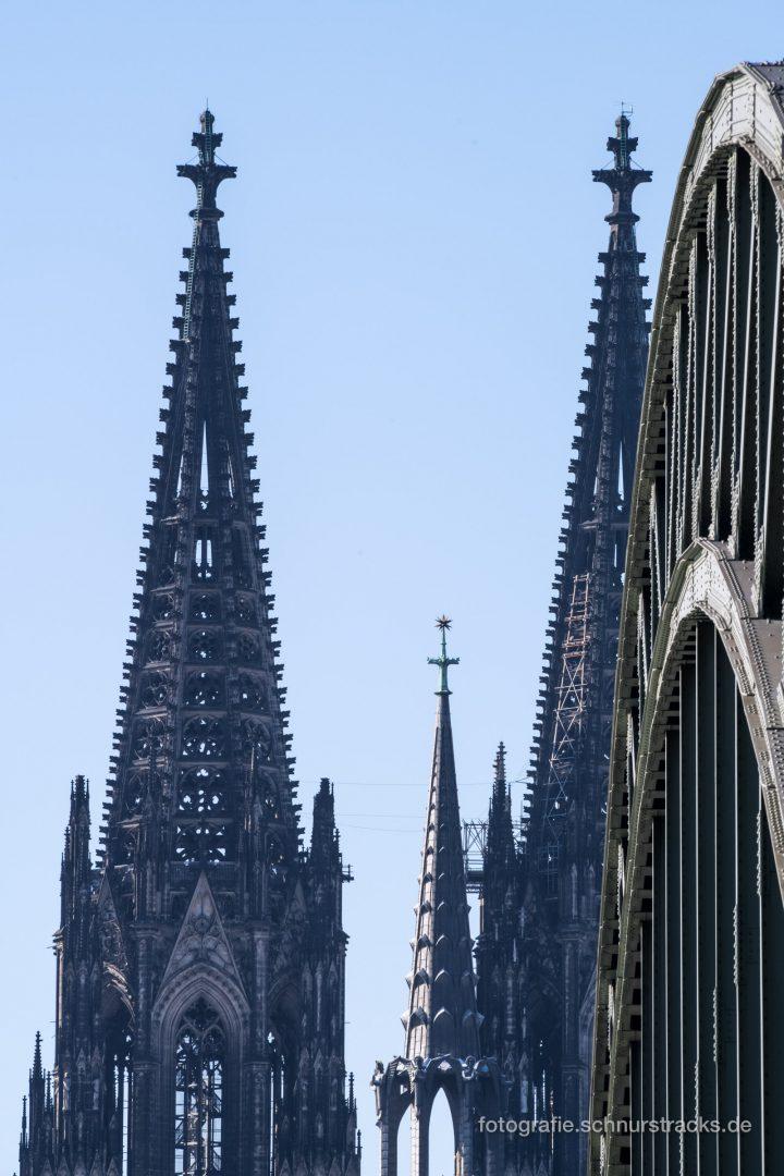 Kölner Dom und Hohenzollernbrücke #1179