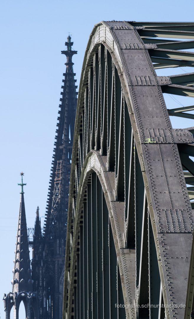 Kölner Dom und Hohenzollernbrücke #1182