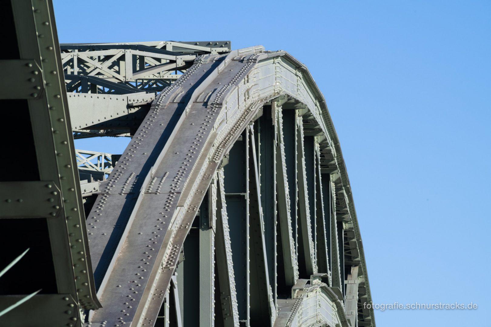Hohenzollernbrücke Bogen #1209