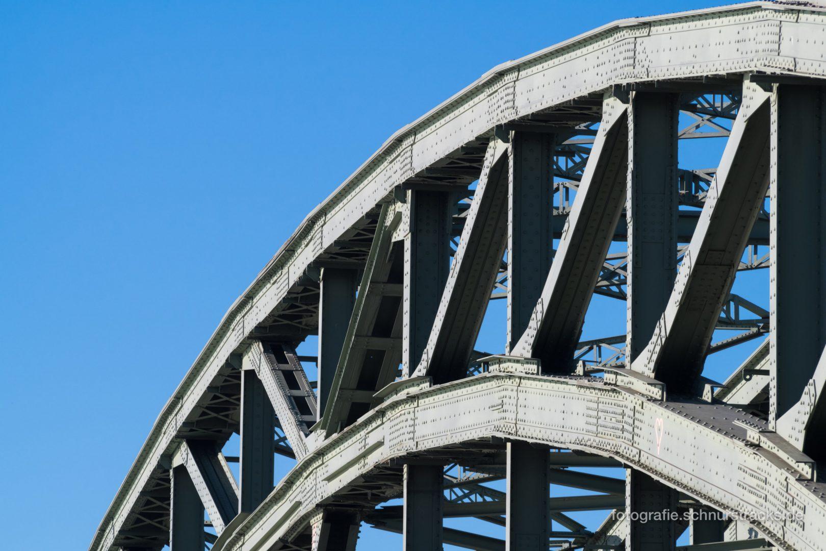 Hohenzollernbrücke Bogen #1230