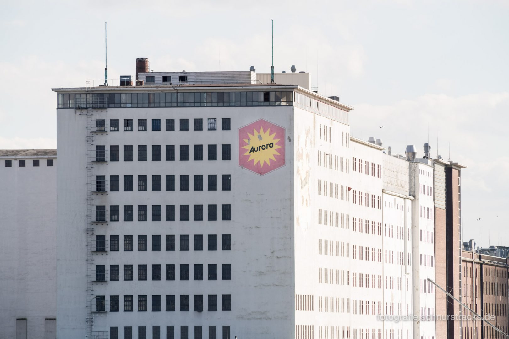 Ellmühle im Deutzer Hafen – Kampffmeyer Mühlen GmbH Werk #0874