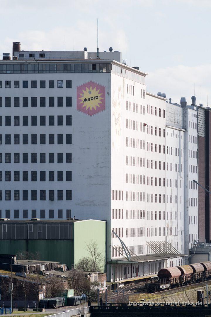 Ellmühle im Deutzer Hafen – Kampffmeyer Mühlen GmbH Werk #0876