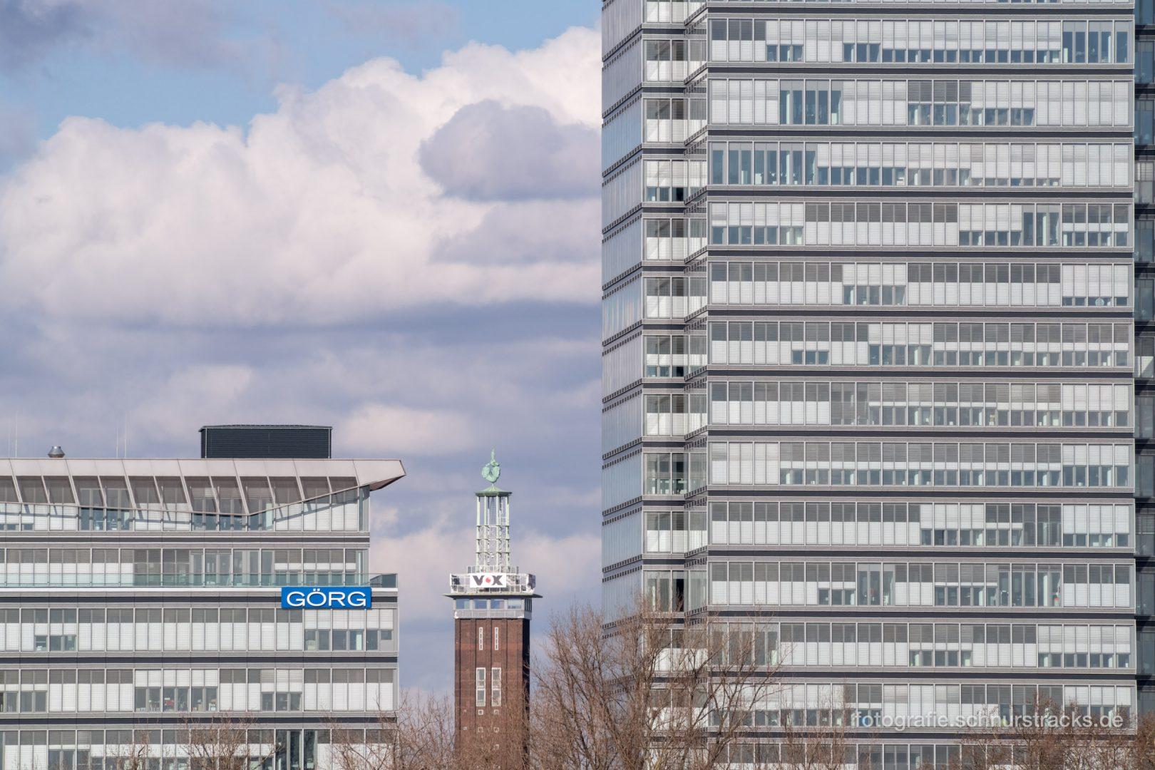 Görg Rheinetagen, Messeturm und Lanxess Tower #0888