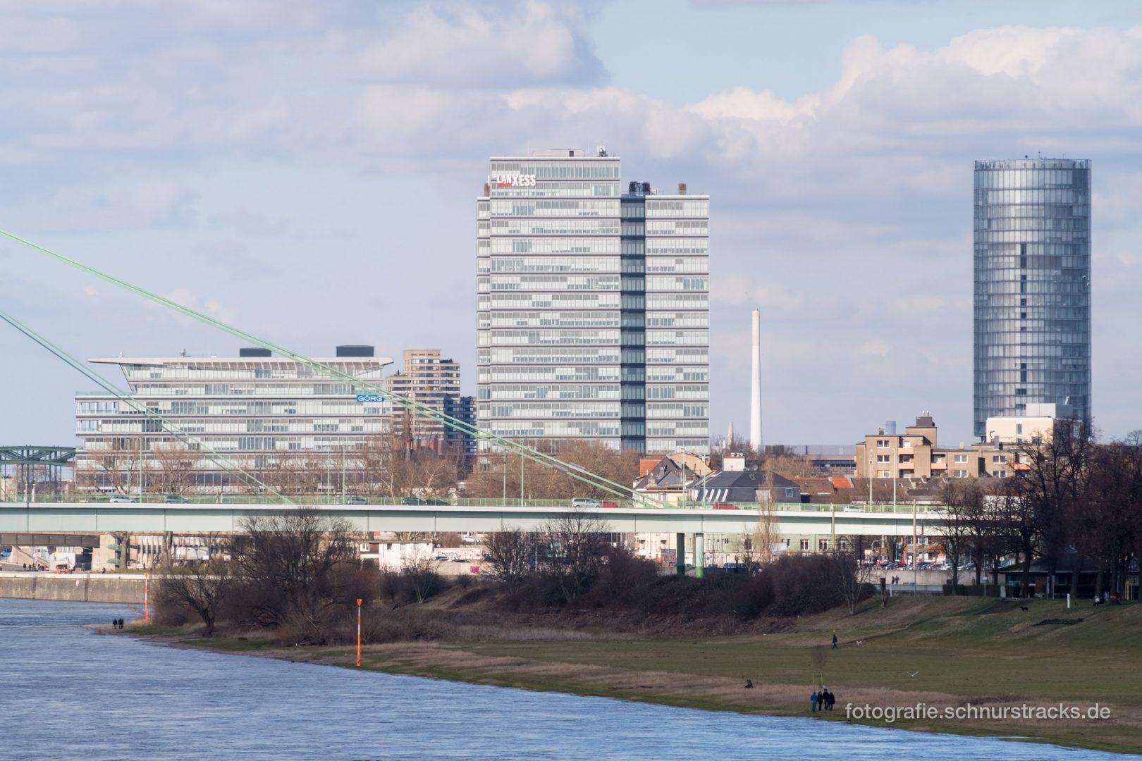 Görg Rheinetagen, Lanxess Tower und Kölntriangle #1003