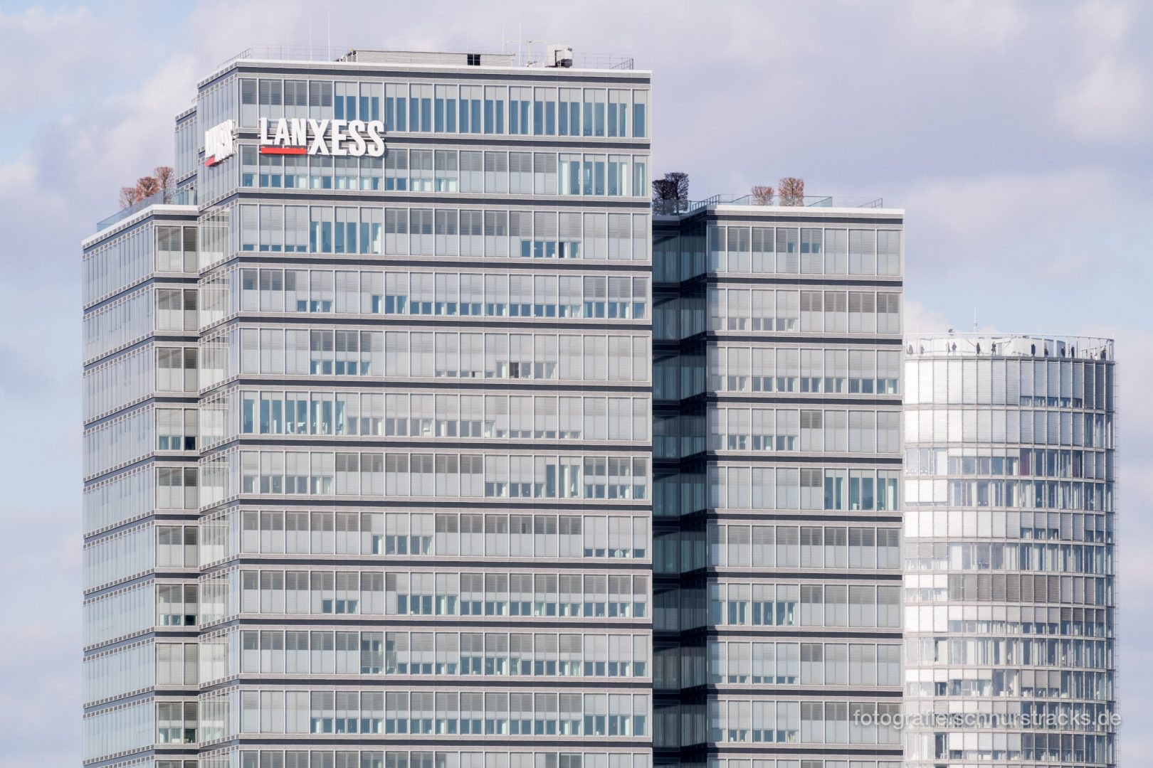 Lanxess Tower und Kölntriangle #1118
