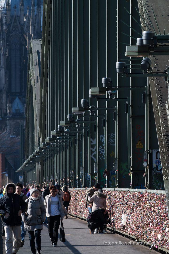 Fußweg Hohenzollernbrücke #1186