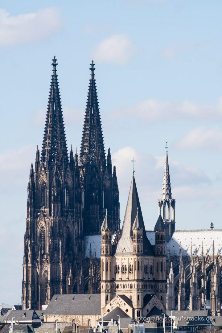 Kölner Dom und Groß St. Martin #1094