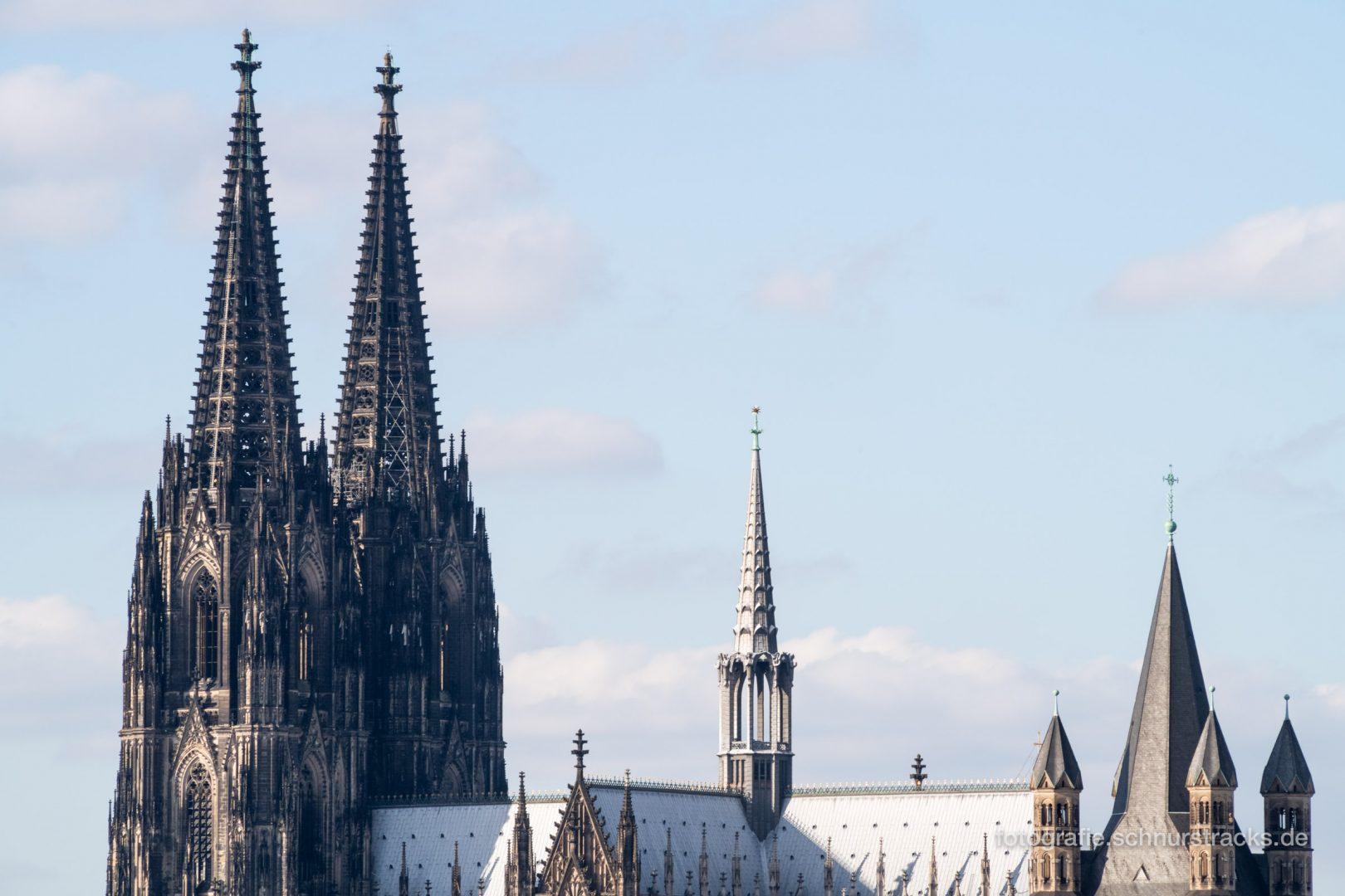 Kölner Dom und Groß St. Martin #1120