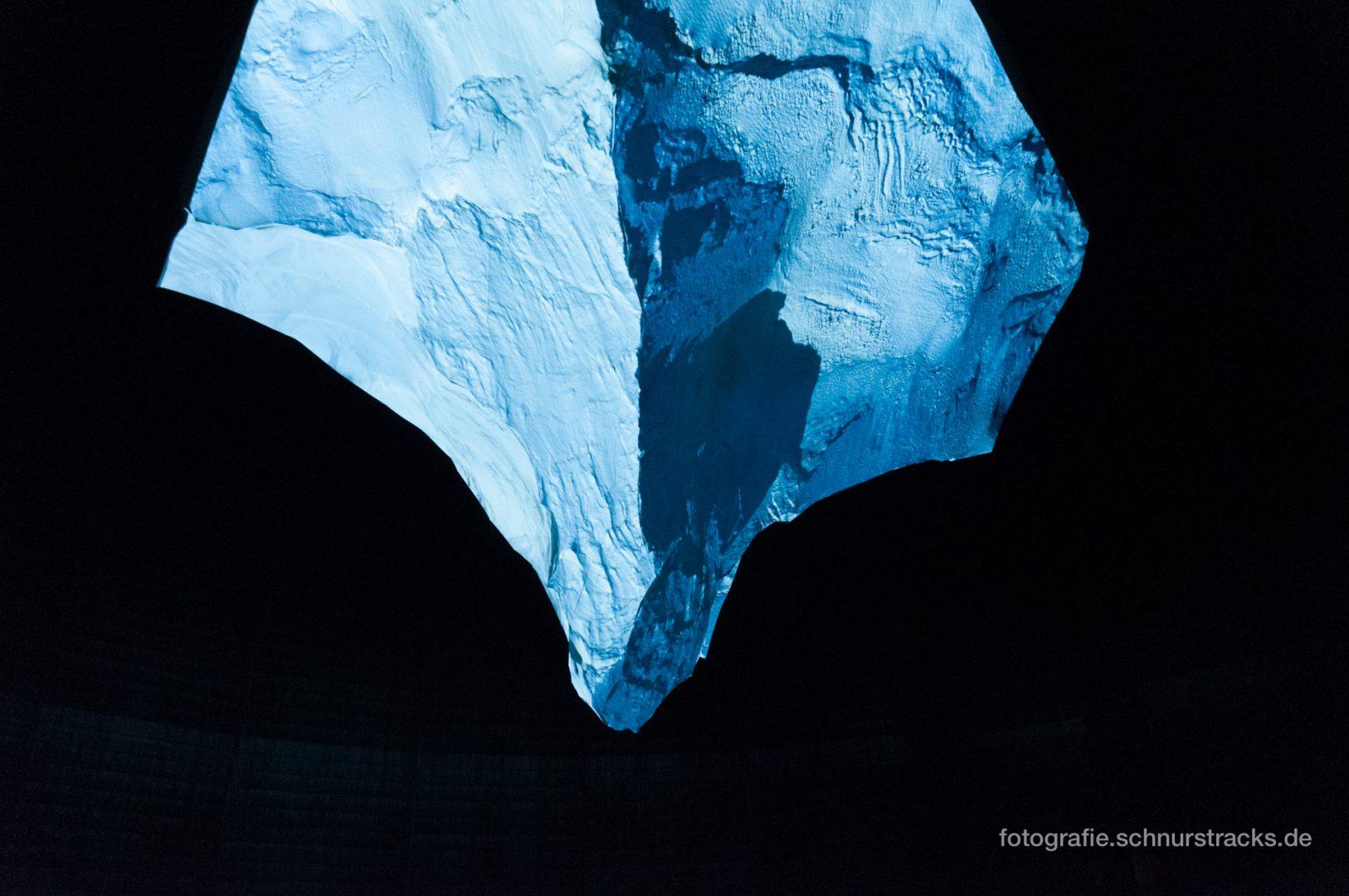 """Projektion auf das Matterhorn-Modell im Gasometer """"Der Berg ruft"""" #1002"""