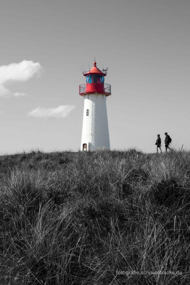 Leuchtturm am Lister Ellenbogen