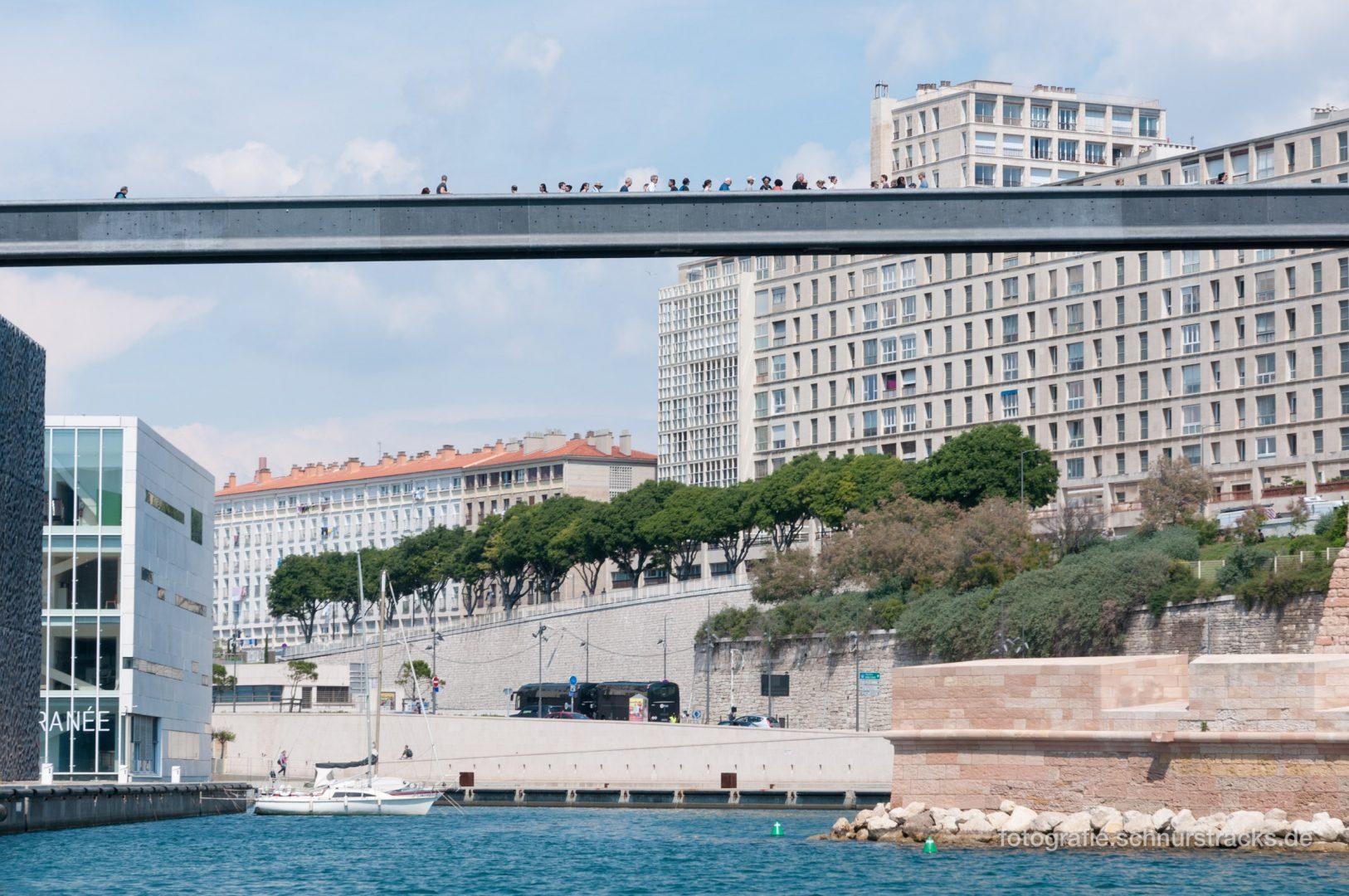 Brücke MUCEM #1171 – Alter Hafen in Marseille