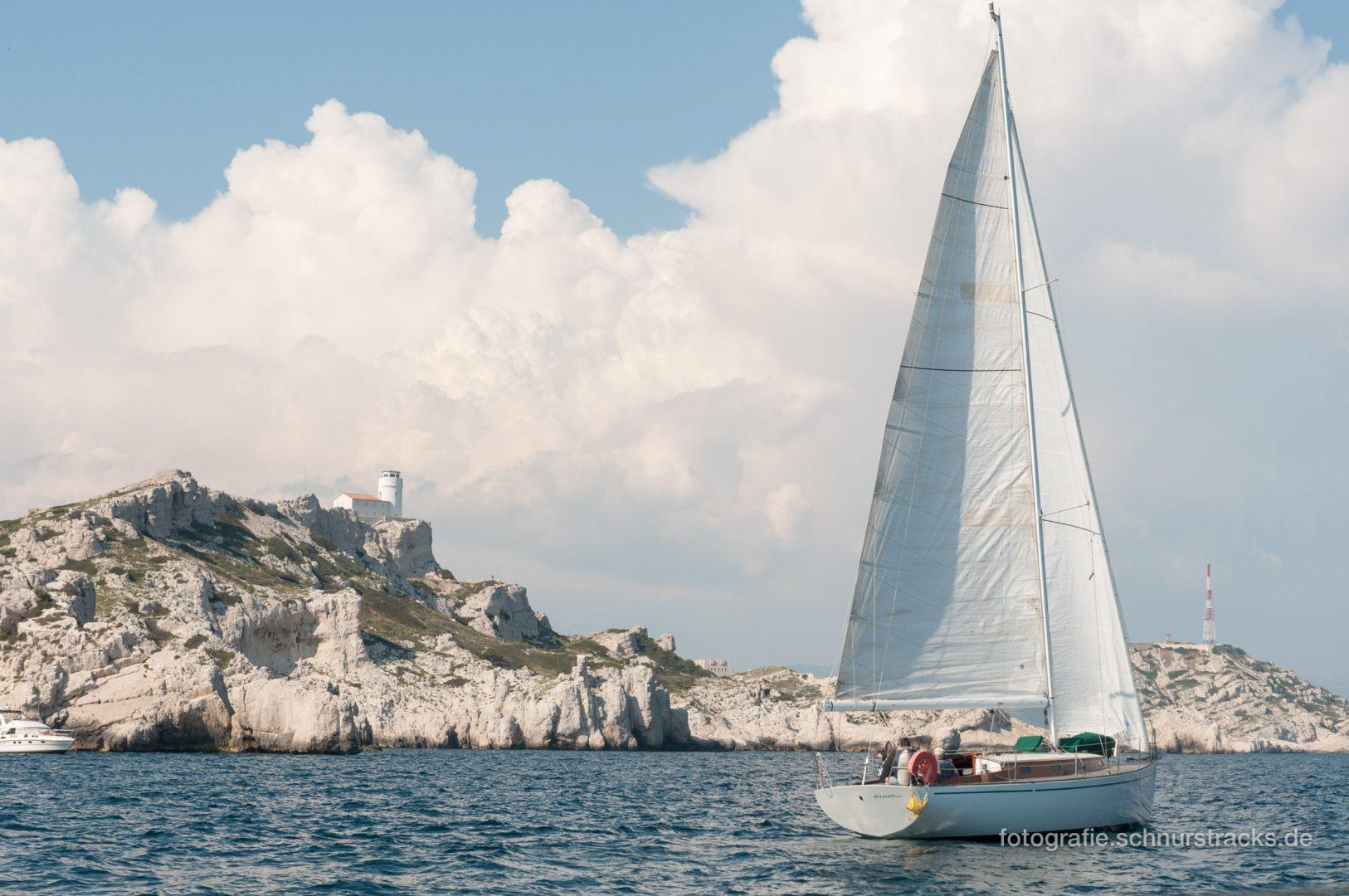 Segelboot vor Frioul #1226
