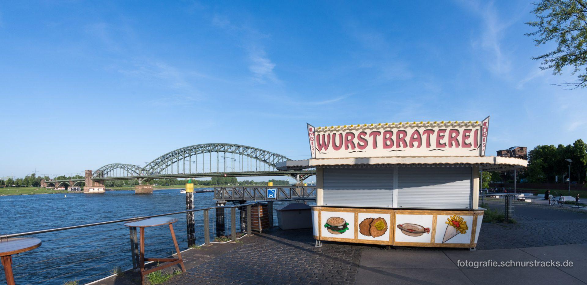 Wurstbraterei mit Südbrücke #2259