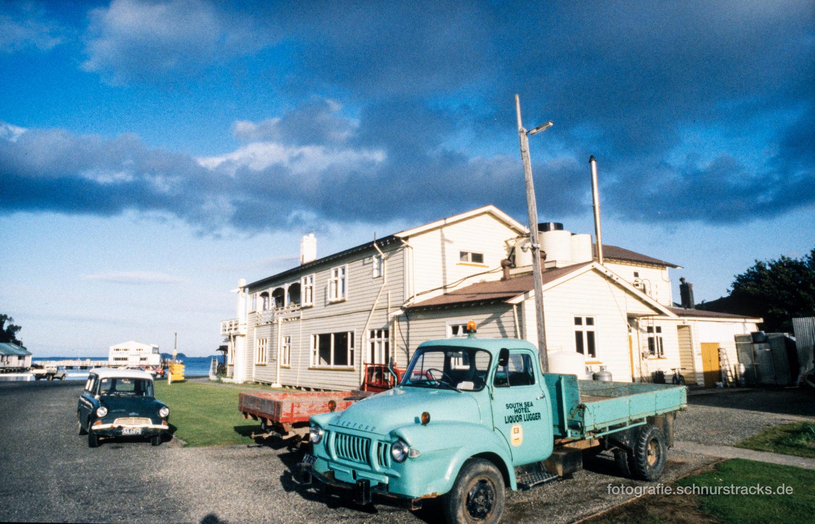 Liquor Logger Stewart Island