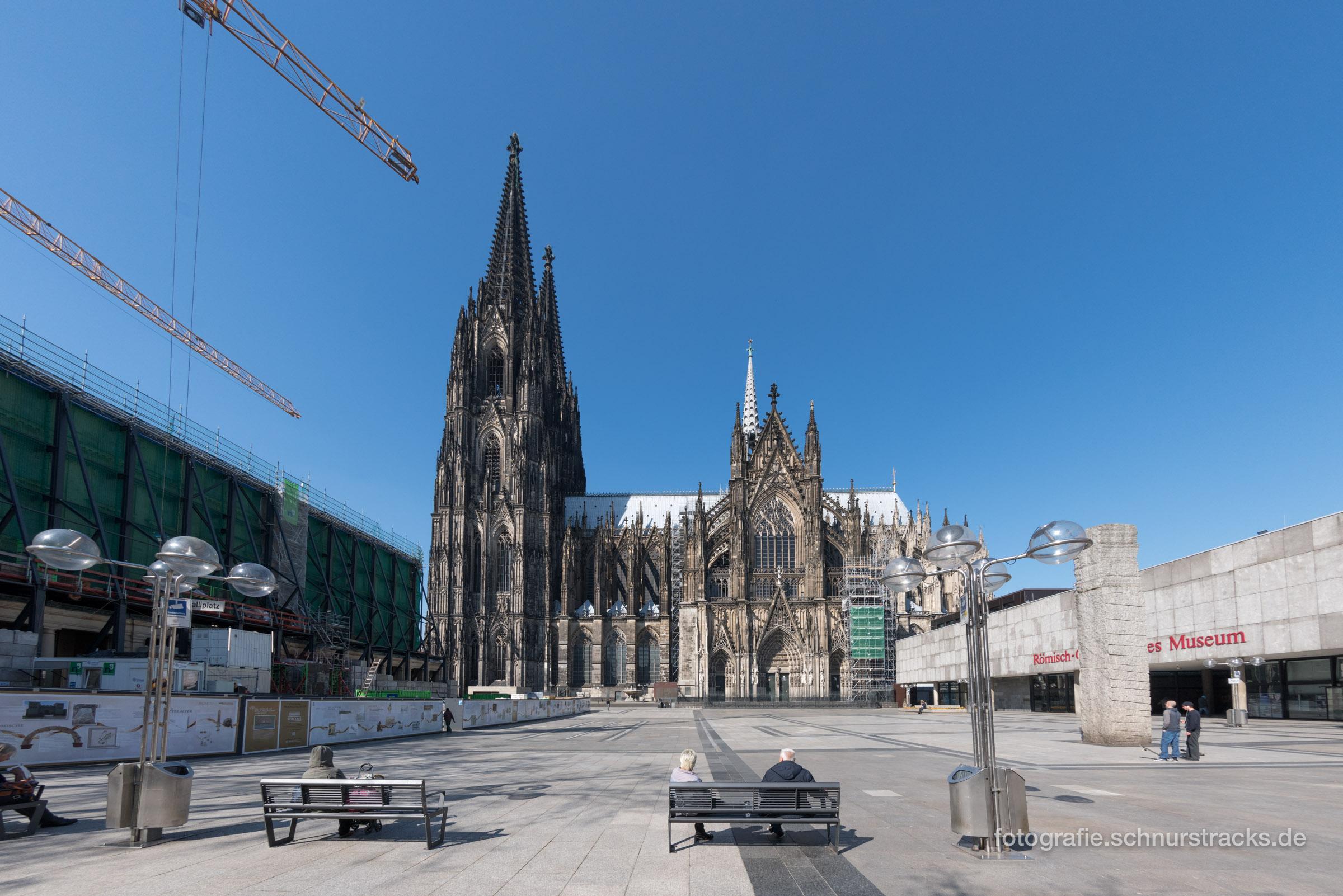 Kölner Dom Südseite