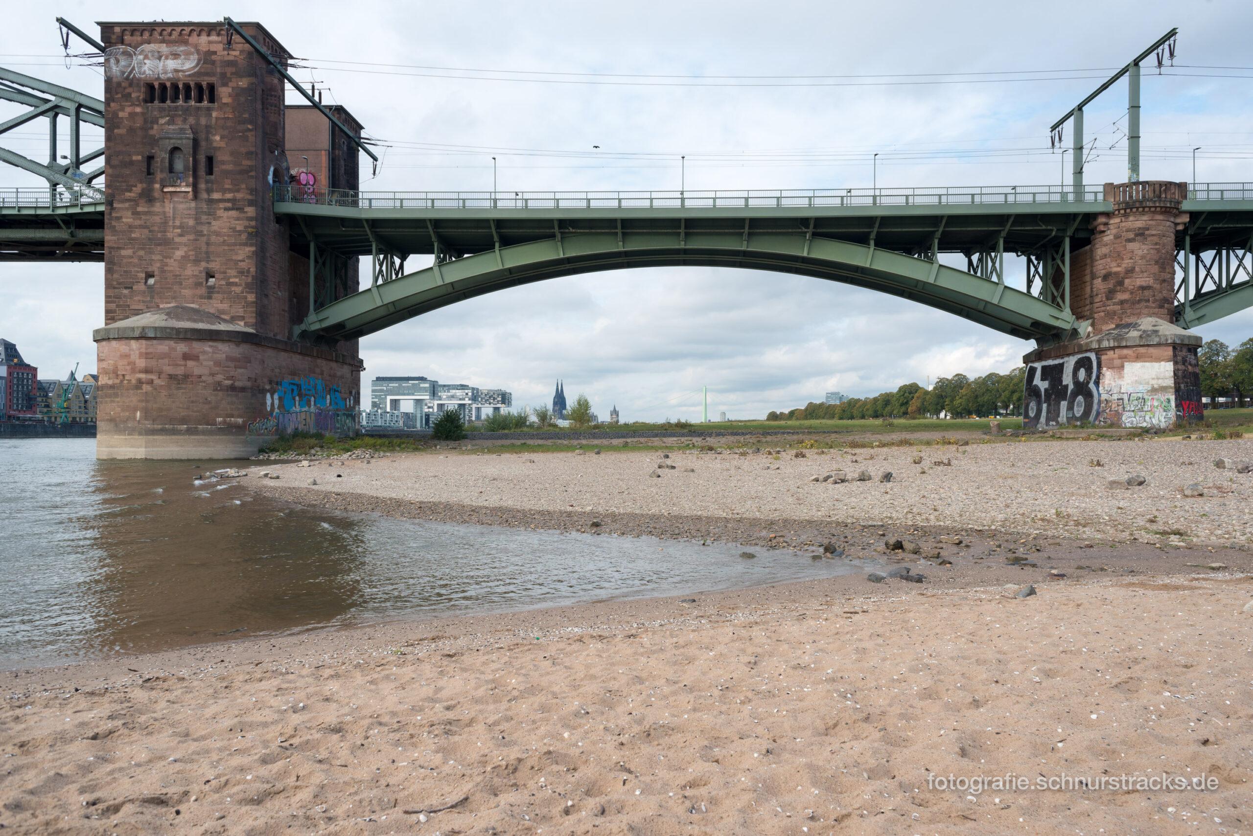 Kölnpanorama unter Südbrücke