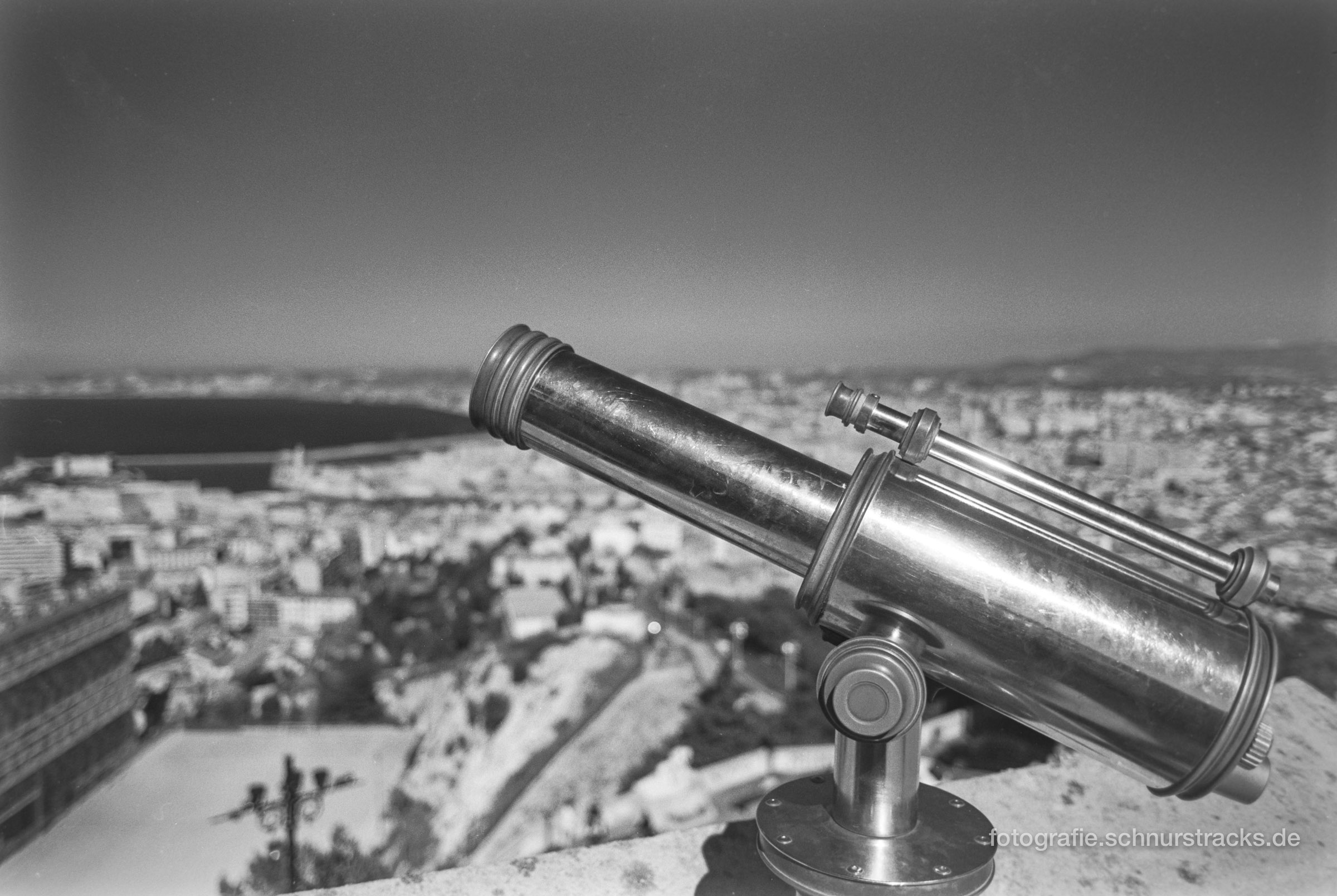 Fernrohr über Marseille
