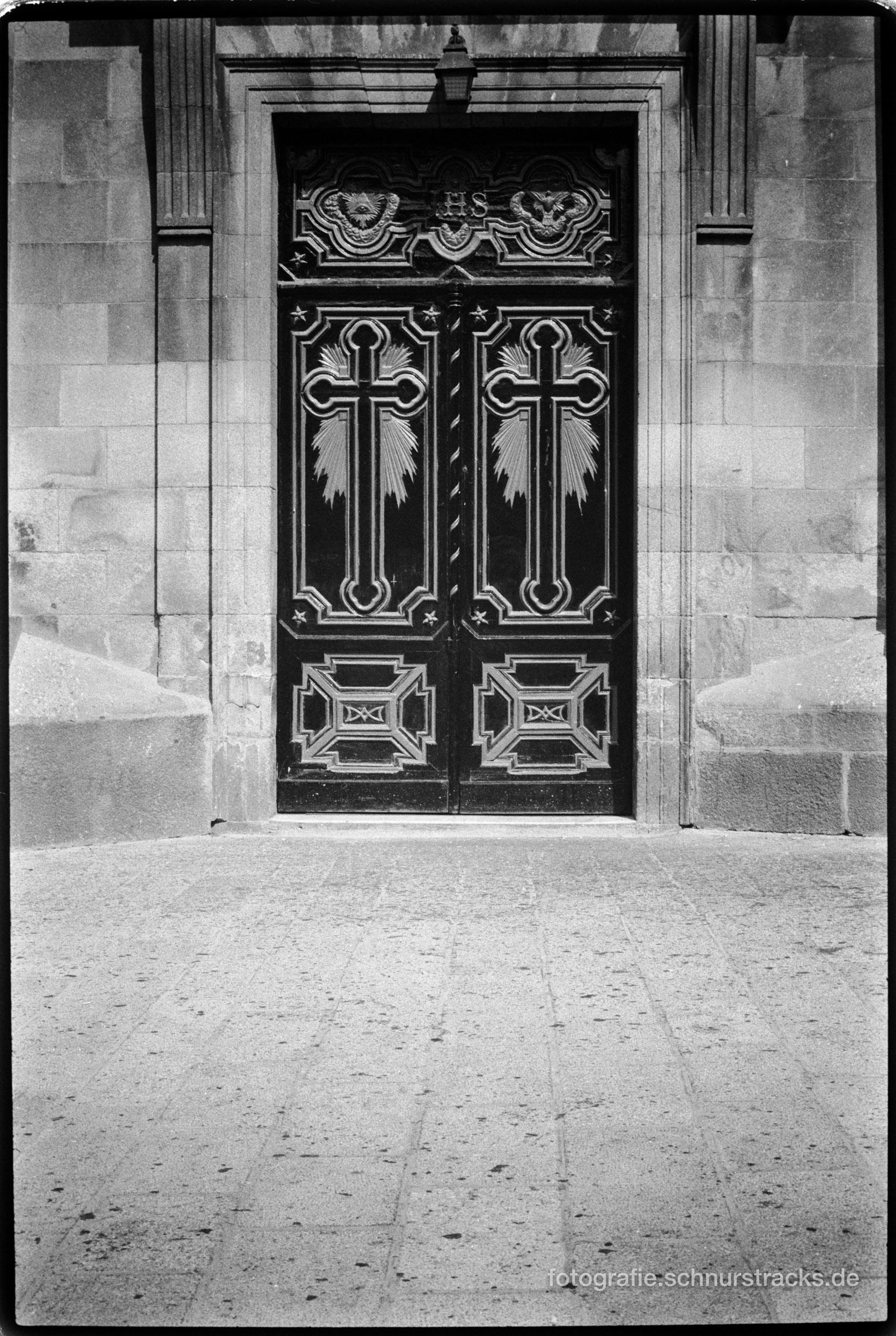 Kirchenportal in Vigo