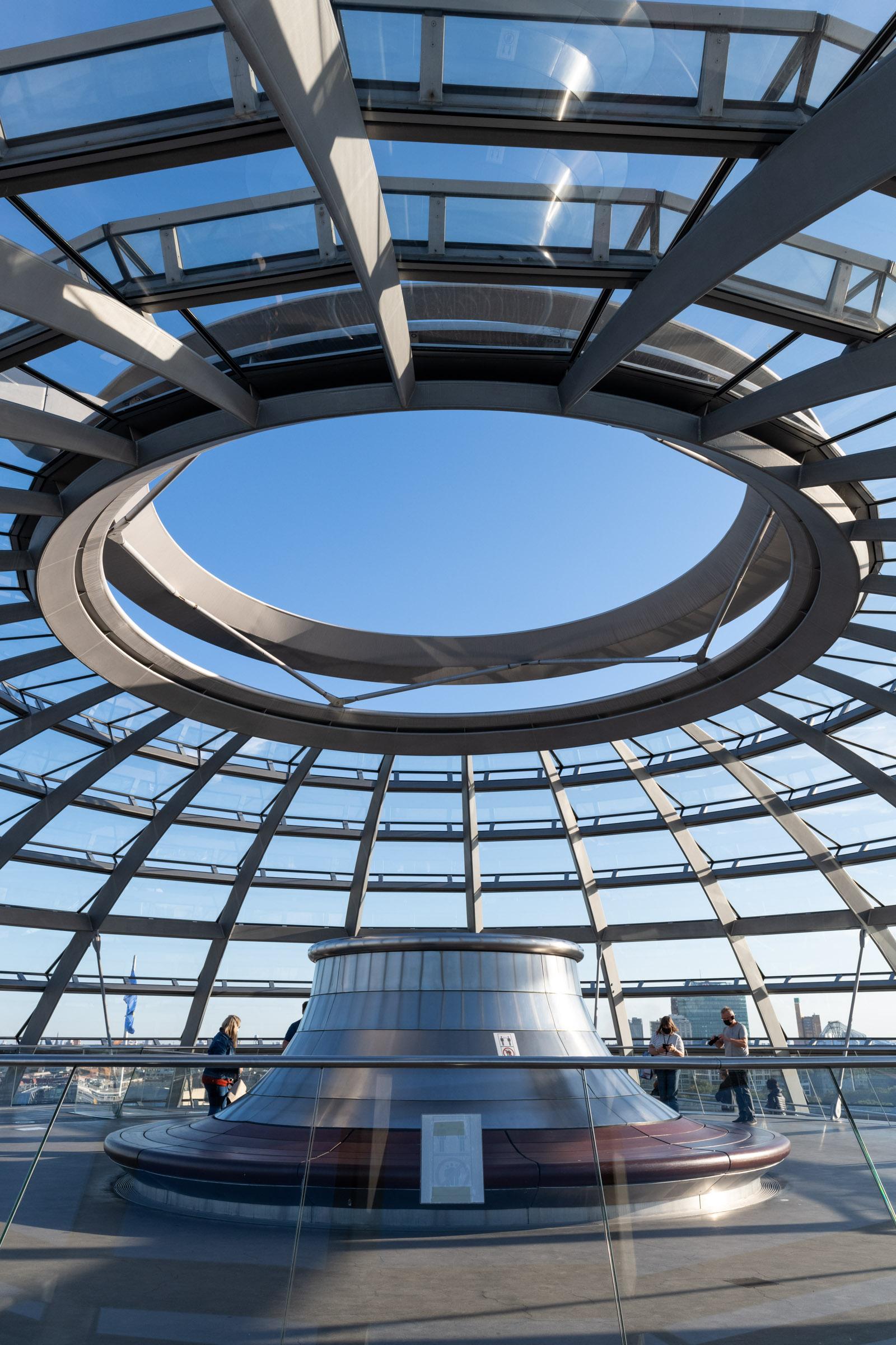 Aussichtsplattform Reichstagskuppel